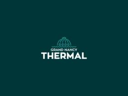 Réalisation de l'identité visuelle pour Grand Nancy Thermal (Grand-Est) : création de la charte graphique, logo, typographie