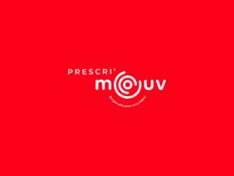 Réalisation de l'identité visuelle pour le label sport santé Prescri'mouv(ARS, Grand-Est) : création de la charte graphique, logo, typographie