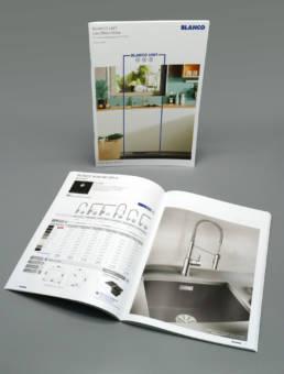 Création et exécution des catalogues produits pour Blanco France